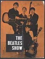 The Beatles - John Lennon and Paul McCartney signed concert programme, 1963. - Front 3/4 - 48045