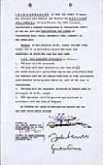John Lennon Twice Signed Apple Corps Document, 1972. - Front 3/4 - 48059