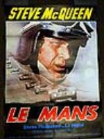 Steve McQueen Le Mans movie French release movie poster. - Front 3/4 - 97952