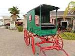 0 BUGGY WELLS -FARGO DELIVERY WAGON - Front 3/4 - 101433