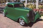 1933 FORD 3 WINDOW CUSTOM COUPE - Front 3/4 - 101590