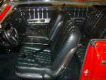 1963 FORD GALAXIE 500 2 DOOR COUPE - Interior - 101609