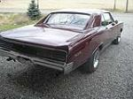 1967 PONTIAC GTO 2 DOOR HARDTOP - Rear 3/4 - 101661