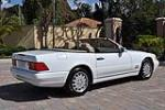 1998 MERCEDES-BENZ 500SL CONVERTIBLE - Rear 3/4 - 101681