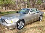 1999 MERCEDES-BENZ 500SL CONVERTIBLE - Front 3/4 - 101754