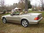 1999 MERCEDES-BENZ 500SL CONVERTIBLE - Rear 3/4 - 101754