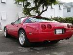 1991 CHEVROLET CORVETTE COUPE - Rear 3/4 - 101756