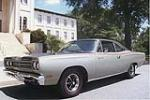 1969 PLYMOUTH ROAD RUNNER 2 DOOR SEDAN - Front 3/4 - 101780