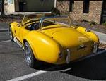 1967 SHELBY COBRA RE-CREATION CONVERTIBLE - Rear 3/4 - 101793