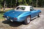 1967 CHEVROLET CORVETTE CONVERTIBLE - Rear 3/4 - 101995