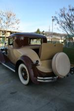 1931 REO FLYING CLOUD 2 DOOR COUPE - Side Profile - 101997
