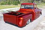 1957 CHEVROLET 3100 CUSTOM PICKUP - Rear 3/4 - 102076