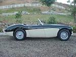 1960 AUSTIN-HEALEY 3000 BN7 ROADSTER - Side Profile - 102106