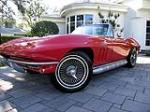 1966 CHEVROLET CORVETTE CONVERTIBLE - Front 3/4 - 102130