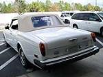 1979 ROLLS-ROYCE CORNICHE CONVERTIBLE - Rear 3/4 - 102255