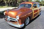 1950 FORD CUSTOM WOODY STATION WAGON - Front 3/4 - 102310