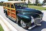1941 PLYMOUTH CUSTOM WOODY STATION WAGON - Front 3/4 - 102312