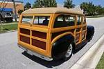 1941 PLYMOUTH CUSTOM WOODY STATION WAGON - Rear 3/4 - 102312