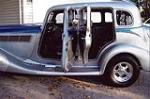 1935 STUDEBAKER COMMANDER CUSTOM 4 DOOR SEDAN - Side Profile - 102753