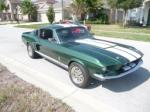 1967 FORD MUSTANG CUSTOM FASTBACK - Front 3/4 - 102793