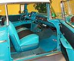 1957 CHEVROLET BEL AIR 2 DOOR HARDTOP - Interior - 102873