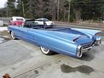 1960 CADILLAC SERIES 62 CONVERTIBLE - Rear 3/4 - 102874