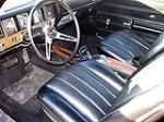 1970 BUICK GS 455 STAGE 1 COUPE - Interior - 103013