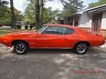 1969 PONTIAC GTO 2 DOOR COUPE - Side Profile - 103233