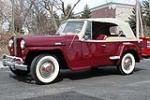 1949 WILLYS JEEPSTER CONVERTIBLE - Front 3/4 - 103413