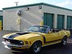 1970 FORD MUSTANG CUSTOM CONVERTIBLE - Front 3/4 - 104935