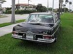 1969 MERCEDES-BENZ 300SEL SEDAN - Rear 3/4 - 105296