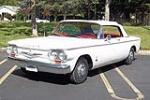 1962 CHEVROLET CORVAIR CONVERTIBLE - Front 3/4 - 108225