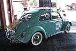 1963 VOLKSWAGEN BEETLE 2 DOOR SEDAN - Rear 3/4 - 108240