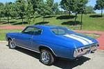 1972 CHEVROLET CHEVELLE 2 DOOR CUSTOM COUPE - Rear 3/4 - 108261