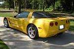 2001 CHEVROLET CORVETTE 2 DOOR COUPE - Rear 3/4 - 108274