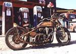 1996 HARLEY-DAVIDSON SPORTSTER CUSTOM MOTORCYCLE - Side Profile - 108305