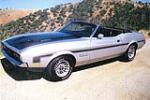 1971 FORD MUSTANG CUSTOM CONVERTIBLE - Front 3/4 - 108309