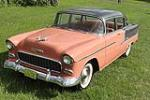 1955 CHEVROLET BEL AIR 4 DOOR SEDAN - Front 3/4 - 108318