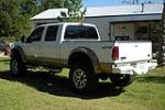 2003 FORD F-250 CUSTOM 4X4 PICKUP - Rear 3/4 - 108327