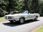 1970 OLDSMOBILE 442 PACE CAR CONVERTIBLE - Front 3/4 - 108442