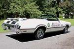 1970 OLDSMOBILE 442 PACE CAR CONVERTIBLE - Rear 3/4 - 108442