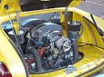 1970 VOLKSWAGEN KARMANN GHIA CONVERTIBLE - Engine - 108692