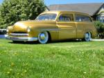 1950 MERCURY CUSTOM WOODY WAGON - Front 3/4 - 108727