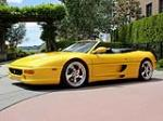 1997 FERRARI F-355 SPIDER - Side Profile - 109453