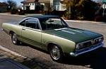 1968 PLYMOUTH BARRACUDA FORMULA S 2 DOOR HARDTOP - Front 3/4 - 112572