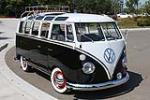 1963 VOLKSWAGEN 21 WINDOW CUSTOM DELUXE BUS - Front 3/4 - 112578