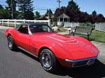 1970 CHEVROLET CORVETTE CONVERTIBLE - Front 3/4 - 112603