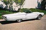 1965 FORD THUNDERBIRD 2 DOOR CONVERTIBLE - Side Profile - 112607