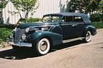 1940 CADILLAC SERIES 75 4 DOOR CONVERTIBLE - Side Profile - 112609