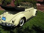 1964 VOLKSWAGEN BEETLE CUSTOM CONVERTIBLE - Rear 3/4 - 112614